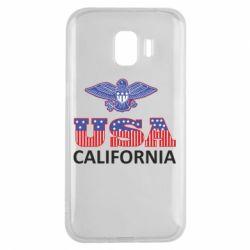 Чехол для Samsung J2 2018 Eagle USA