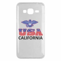 Чехол для Samsung J3 2016 Eagle USA