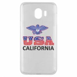 Чехол для Samsung J4 Eagle USA