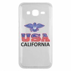 Чехол для Samsung J5 2015 Eagle USA