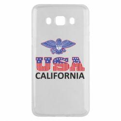 Чехол для Samsung J5 2016 Eagle USA