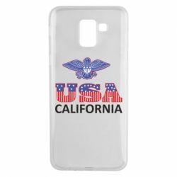 Чехол для Samsung J6 Eagle USA
