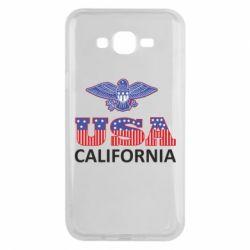 Чехол для Samsung J7 2015 Eagle USA
