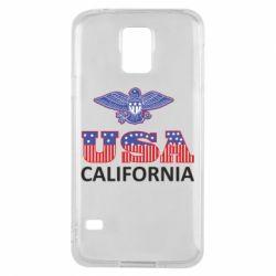 Чехол для Samsung S5 Eagle USA