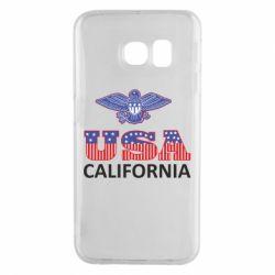 Чехол для Samsung S6 EDGE Eagle USA