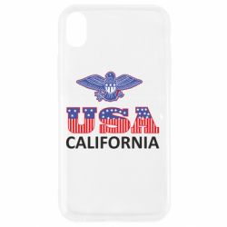 Чехол для iPhone XR Eagle USA