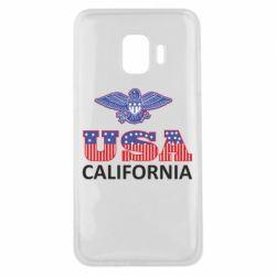 Чехол для Samsung J2 Core Eagle USA