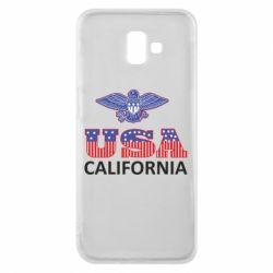 Чехол для Samsung J6 Plus 2018 Eagle USA