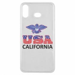 Чехол для Samsung A6s Eagle USA