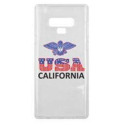 Чехол для Samsung Note 9 Eagle USA