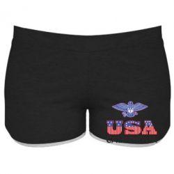 Женские шорты Eagle USA - FatLine