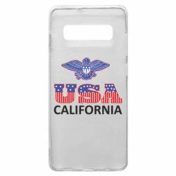 Чехол для Samsung S10+ Eagle USA