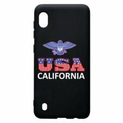 Чехол для Samsung A10 Eagle USA