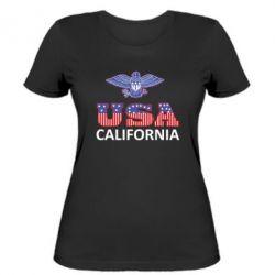 Женская футболка Eagle USA - FatLine