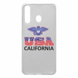 Чехол для Samsung A60 Eagle USA