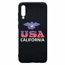 Чехол для Samsung A70 Eagle USA