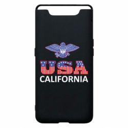 Чехол для Samsung A80 Eagle USA