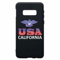 Чехол для Samsung S10e Eagle USA
