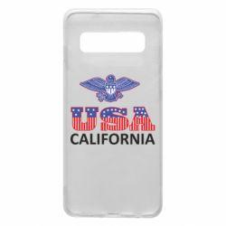Чехол для Samsung S10 Eagle USA