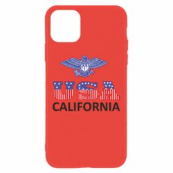 Чехол для iPhone 11 Eagle USA