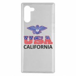 Чехол для Samsung Note 10 Eagle USA