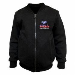 Детский бомбер Eagle USA