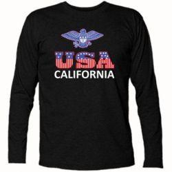 Футболка с длинным рукавом Eagle USA - FatLine