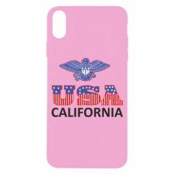 Чехол для iPhone X/Xs Eagle USA