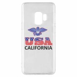 Чехол для Samsung S9 Eagle USA