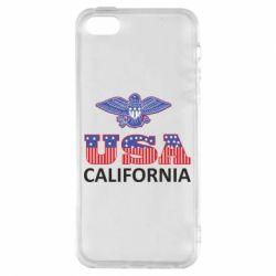 Чехол для iPhone5/5S/SE Eagle USA
