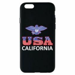 Чехол для iPhone 6/6S Eagle USA