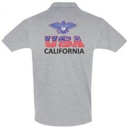 Мужская футболка поло Eagle USA