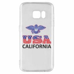 Чехол для Samsung S7 Eagle USA