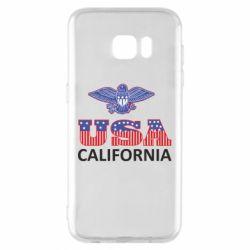 Чехол для Samsung S7 EDGE Eagle USA