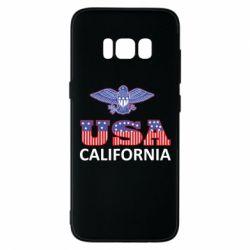 Чехол для Samsung S8 Eagle USA