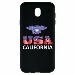 Чехол для Samsung J7 2017 Eagle USA