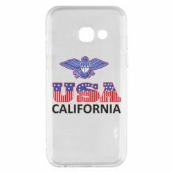 Чехол для Samsung A3 2017 Eagle USA