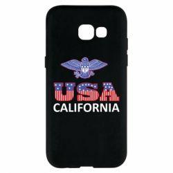 Чехол для Samsung A5 2017 Eagle USA