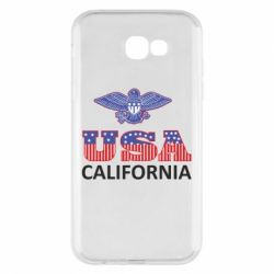 Чехол для Samsung A7 2017 Eagle USA