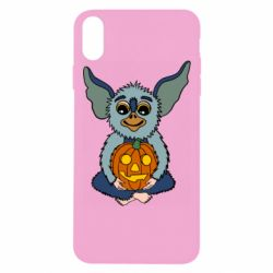 Чехол для iPhone Xs Max Eared Monster with Pumpkin