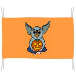 Прапор Eared Monster with Pumpkin