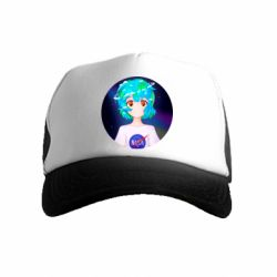 Дитяча кепка-тракер Earth-chan in a T-shirt with a Nasa logo