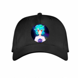 Дитяча кепка Earth-chan in a T-shirt with a Nasa logo