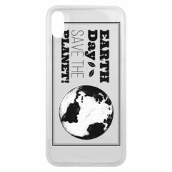 Чехол для iPhone Xs Max Earth Day save the planet!