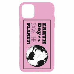 Чехол для iPhone 11 Pro Earth Day save the planet!