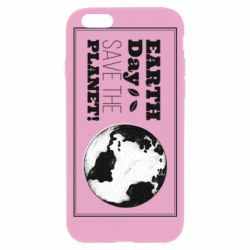 Чехол для iPhone 6/6S Earth Day save the planet!