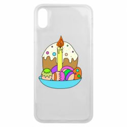 Чехол для iPhone Xs Max Easter cake and eggs