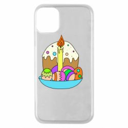 Чохол для iPhone 11 Pro Easter cake and eggs