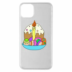 Чехол для iPhone 11 Pro Max Easter cake and eggs