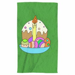 Рушник Easter cake and eggs